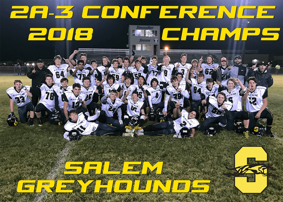 2A-3 Conference 2018 Champs - Salem Greyhounds